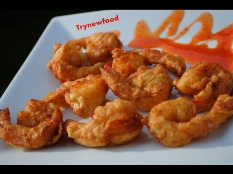 Crispy Fried Shrimp