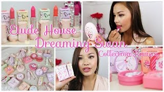 getlinkyoutube.com-First Impressions ♥ Entire Etude House Dreaming Swan Collection Review
