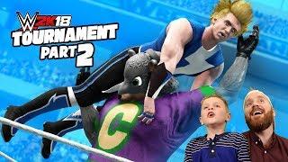Chuck E Cheese vs Little Flash! WWE 2k18 Game Tournament Match #2!