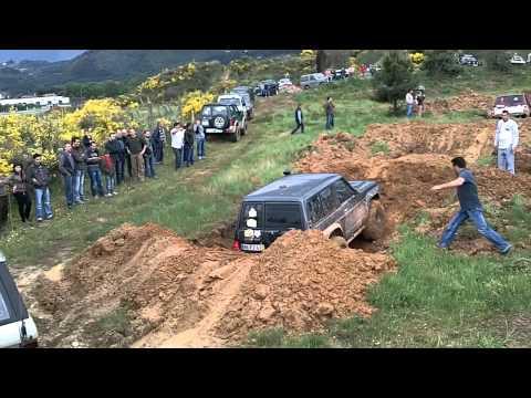 Raid Rota do Presunto 2011 -  Jipes na Pista de Obstaculos nos Barreiros / CHAVES