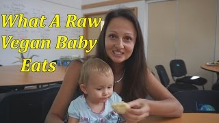 getlinkyoutube.com-What Our 16-Month Old Raw Vegan Baby Ate In A Day