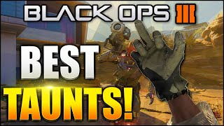 "getlinkyoutube.com-Black Ops 3 - ""BEST TAUNTS AND GESTURES!"" BEST LEGENDARY AND EPIC GESTURES - (BLACK OPS 3 GESTURES)"