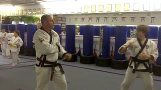 getlinkyoutube.com-Alex B 2nd Degree Black Belt Tang Soo Do Sparring Instructor