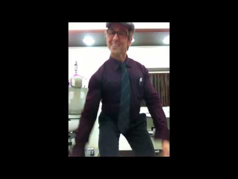 The candid video of Hrithik Roshan