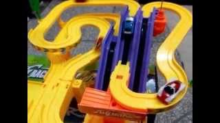getlinkyoutube.com-Track Set Playset, Track Racer Racing Car Toy  Kids' Toys