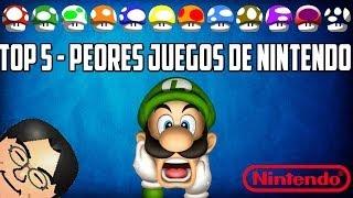 getlinkyoutube.com-Top 5  Los Peores Juegos de Nintendo