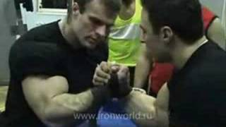 getlinkyoutube.com-Denis Cyplenkov vs Alexey Voevoda (Training)