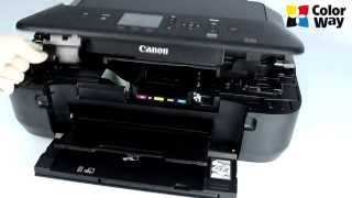 getlinkyoutube.com-Instalation CISS ColorWay for Canon MG5550