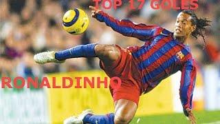 getlinkyoutube.com-TOP 17 GOLES DE RONALDINHO - RONALDINHO GOALS