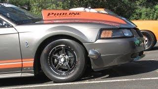 getlinkyoutube.com-FASTEST Pro Street Blown - twin turbo Mustang - Dandy Engines / Proline / Luppino Racing