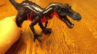getlinkyoutube.com-Review of suchomimus dinosaur toy
