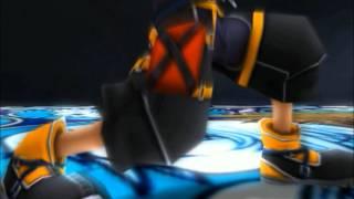 getlinkyoutube.com-Kingdom Hearts II Sora vs Roxas
