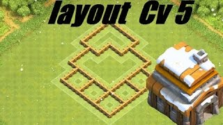 getlinkyoutube.com-Clash of Clans - Melhor Layout Farm CV 5 (MercenáriosBr)