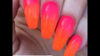 getlinkyoutube.com-How To Do Easy Ombre Nails Tutorial -Using Magpie Pigments