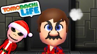 getlinkyoutube.com-Tomodachi Life 3DS Mad Mario, Jack Skellington Santa Suit Gameplay Walkthrough PART 41 Nintendo