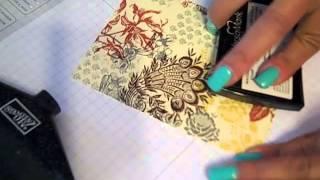 getlinkyoutube.com-Glittery Paper Napkin Cards