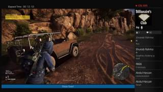 Julfikar's Live PS4 Broadcast