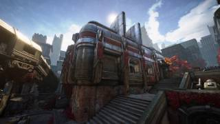 Gears of War 4 - Blood Drive Multiplayer Map Flythrough