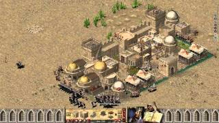 getlinkyoutube.com-Stronghold Crusader EXTREME/ Ловушка у реки (очень сложно)