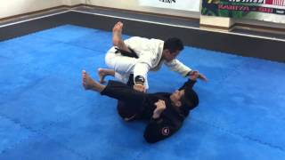 getlinkyoutube.com-スパイダーガードから50/50スイープ|ブラジリア柔術テクニック|インパクト柔術刈谷道場