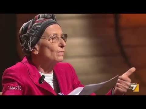 Emma Bonino a La7 per la campagna #IoStoConMax