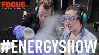 Liquid nitrogen inside plastic bottle = huge explosion