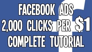 getlinkyoutube.com-$0.0005 CPC Facebook Ads in the USA: AWESOME Facebook Advertising Tutorial