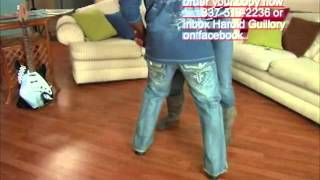 getlinkyoutube.com-Zydeco Dance Lessons by HAROLD GUILLORY