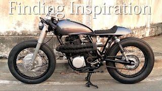 getlinkyoutube.com-Cafe Racer (Yamaha SR 400 By Tonys Bike Design)