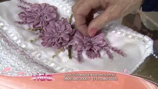 getlinkyoutube.com-Saiba como fazer um lindo bordado da flor camélia!