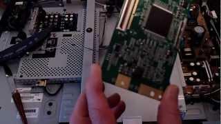 getlinkyoutube.com-Sony Bravia KDL-32M3000 TCON Board Replacement.