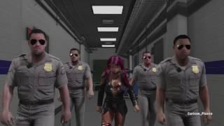 getlinkyoutube.com-WWE 2K17 - Funny Entrance Mash Ups (Sasha Banks Edition)