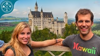 getlinkyoutube.com-Visiting Neuschwanstein Castle in Germany - Worldtrip 2014-15