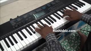 Tujhe Jeevan ki dor se baandh liya hai - Piano - Master Ramana width=