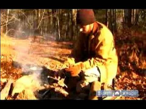 Campfire & Camping Safety Tips : How to Burn Down a Fire: Camping Safety Tips