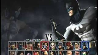 getlinkyoutube.com-Mortal Kombat vs DC Universe online match 1
