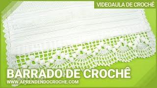 getlinkyoutube.com-Barrado de Croche Dançarinas - Aprendendo Crochê