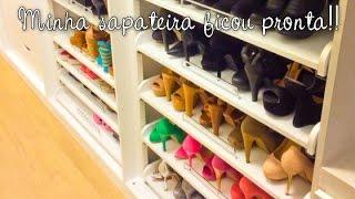 getlinkyoutube.com-[Vlog] Minha sapateira ficou pronta
