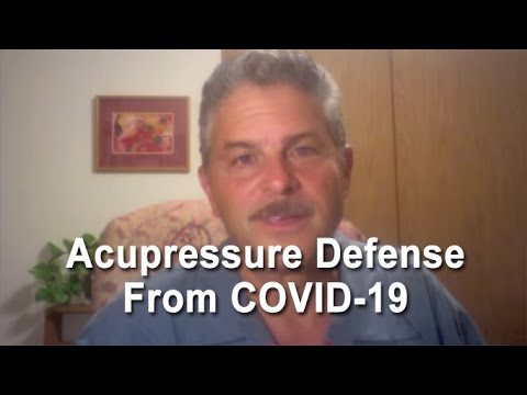 Immune Boosting Acupressure - using point K 27