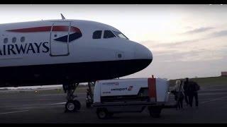 getlinkyoutube.com-British Airways 1325 Newcastle to London Heathrow *Full Flight*