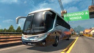 getlinkyoutube.com-ETS2 Marcopolo G7 En Colombia! Transportando personas Euro Truck Simulator 2