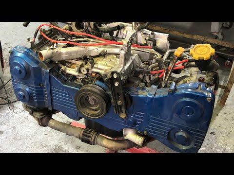 Subaru impreza ej20 engine rebuild part 2 /EJ25  пошаговая разборка двигателя ej20/25 субару импреза