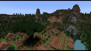getlinkyoutube.com-Minecraft Timelapse - The Oriental Haven