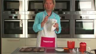 """getlinkyoutube.com-Приготовление печенья финансье с помощью Миксера """"От шефа"""""""