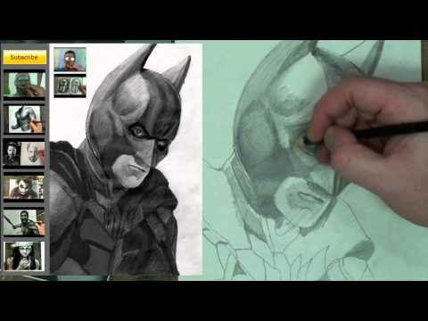 How to Draw Batman Step by Step (Dark Knight)