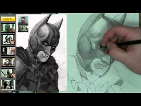 How to Draw Batman Step by Step (Dark Knight)