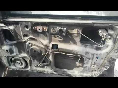 Как снять обшивку на Nissan Primera