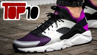 Top 10 Nike Huarache Shoes Of 2016