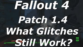 getlinkyoutube.com-Fallout 4 Patch 1.4 - What Glitches Got Patched? What Glitches Still Work? (Fallout 4 Glitches)