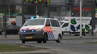 getlinkyoutube.com-PRIO 1 politie ME, hondenwagen, noodhulp & ambulance in Rotterdam